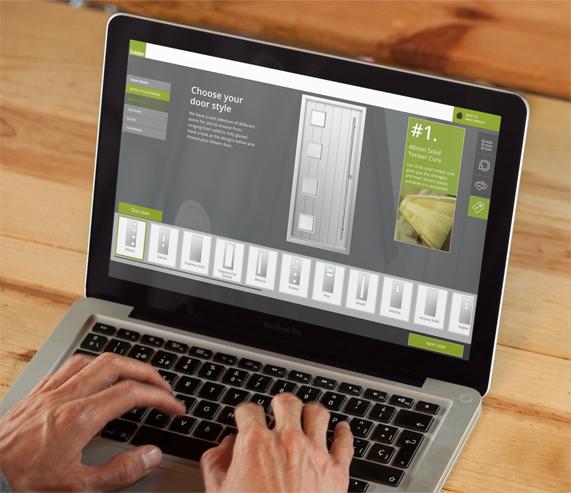 Design your own exterior door online