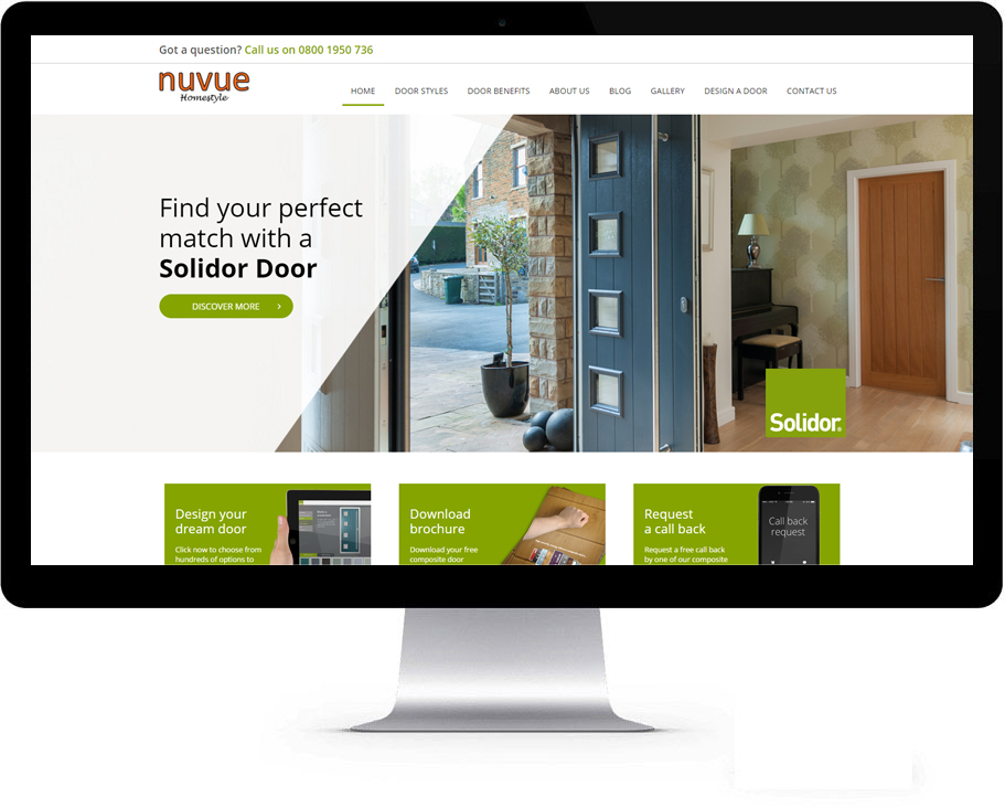 New Website Launch Nuvue Homestyle